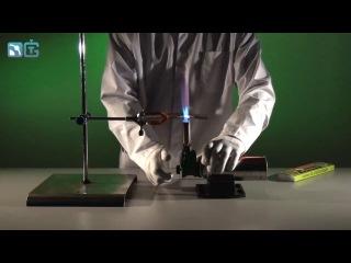 Интересный опыт с газовой горелкой
